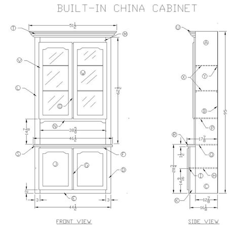 DIY China Hutch Woodworking Plans Plans Free