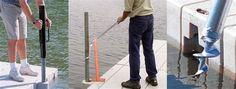 how to anchor a boat dock dock anchoring 1000 series low profile and 2000 series