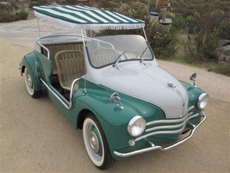 renault 4cv ghia jolly 4 voitures vintage