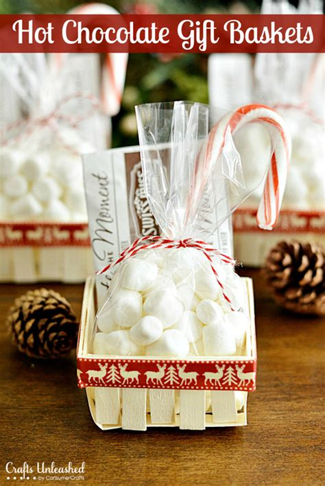 hot chocolate gift baskets 6 gifts for 15