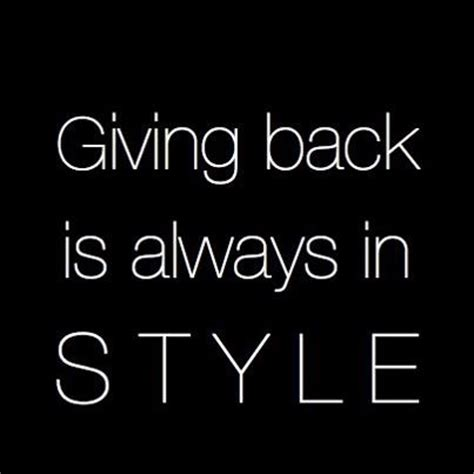 giving back inspirational quotes pinterest charity