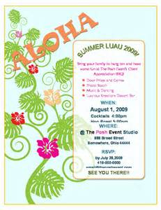 luau invitation template free 9 best images of free printable luau flyers free