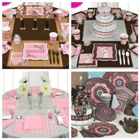 Pink And Brown Decorations pink and brown baby shower decorations best baby decoration