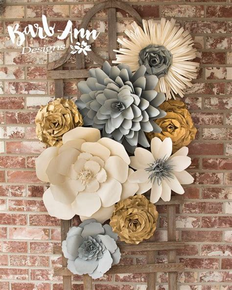decor flowers 25 best ideas about flower wall decor on pinterest