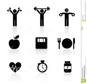 fitness icons royalty free stock image image 31940256