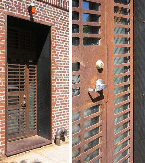 Corten Door by Laser Cut Corten Steel Door By Design Fabrication