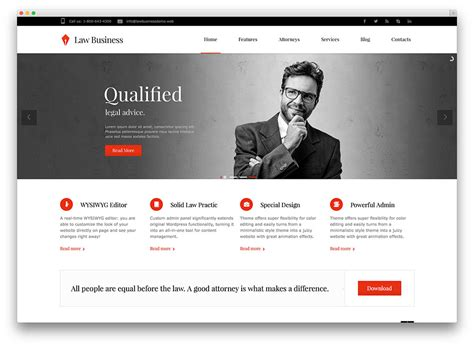 blogger templates for lawyers thiết kế website
