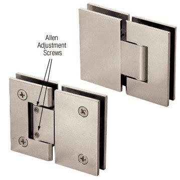 Shower Door Adjustment Crl Brushed Nickel Vienna 380 Series Adjustable 180 Degree