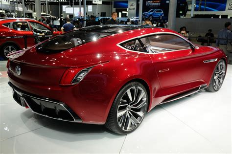 Garage Design Works all electric mg e motion concept is supercar for