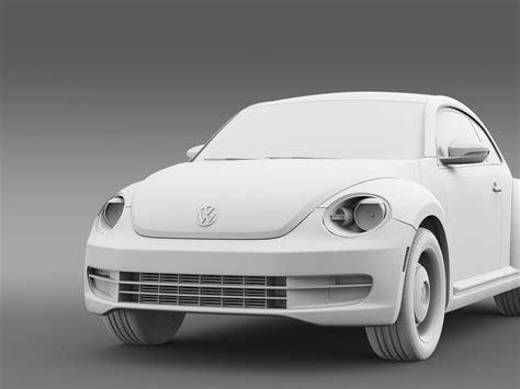 volkswagen classic models volkswagen beetle classic 2015 3d model max obj 3ds