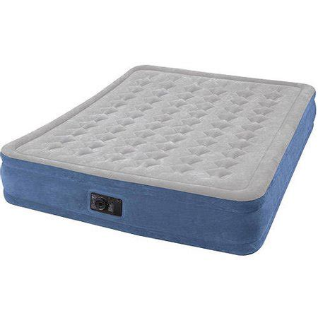 intex elevated airbed with walmart