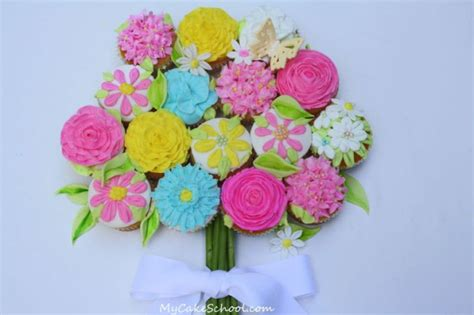 floral arrangement cupcake tutorial we ve picked you some cupcake flowers a blog tutorial