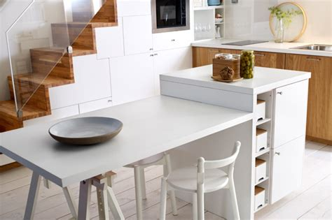 Ikea Kitchen Island With Seating by Cocina Con Isla Dise 209 Os Y Modelos 2018 Hoy Lowcost