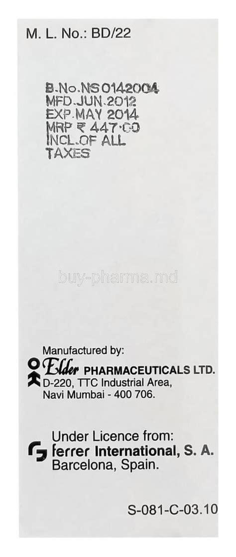 Citicoline Bernofarm 500mg Box Citicoline Suspension Buy Citicoline Suspension