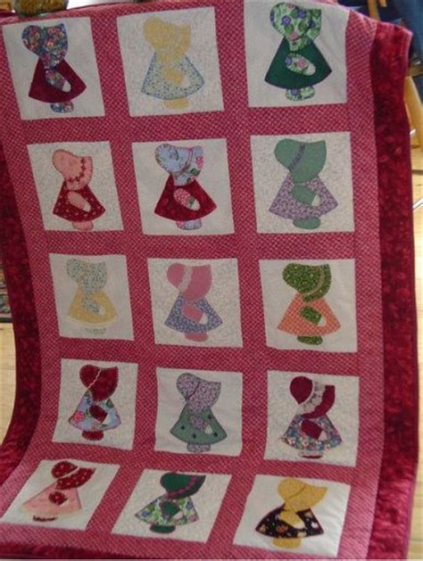 Sue Bonnet Quilt by Sun Bonnet Sue Quilt Mice Diy