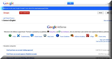 adsense helpline top 3 google adsense forums webnots