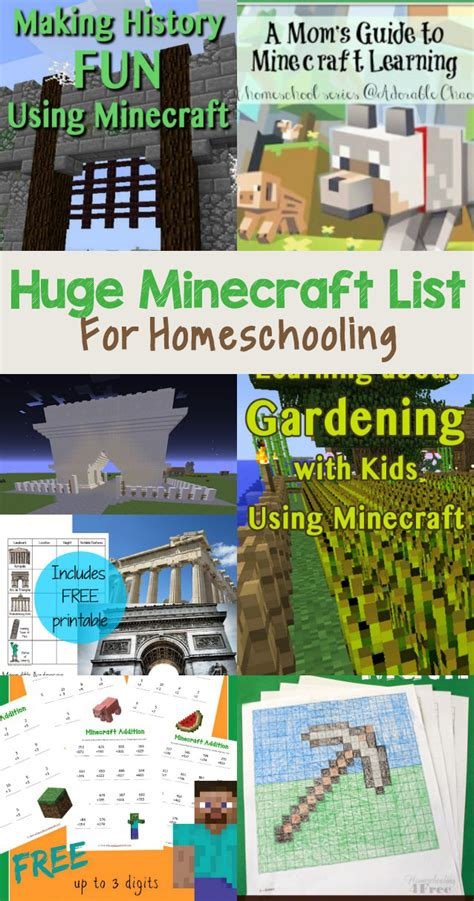 minecraft homeschooling  relaxed homeschool