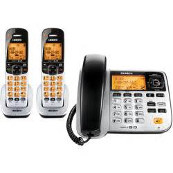 walmart home phones uniden d1788 2 2 handset corded cordless phone silver