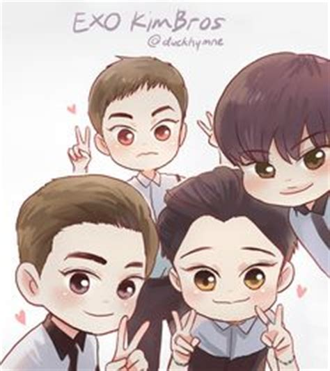 exo quiz quotev 1000 images about chibi 3 on pinterest fanart bts