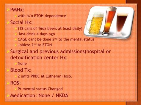 Lutheran Detox by Alcoholic Hepatitis Hepatorenal