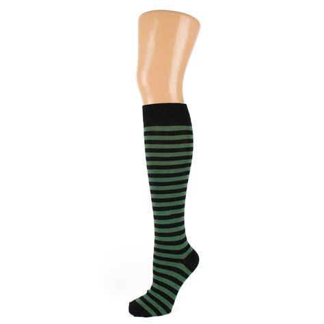 Striped Knee High Socks thin striped knee high socks ebay