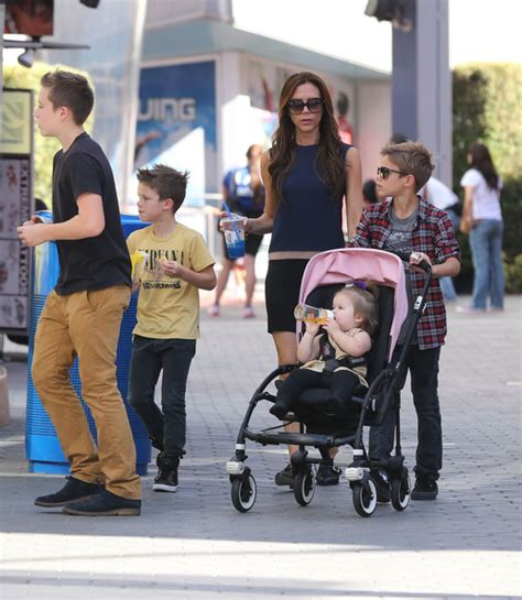 romeo beckham where does he live victoria beckham reveals adorable details about her life