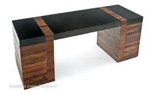 modern rustic desk contemporary wood office desk desk