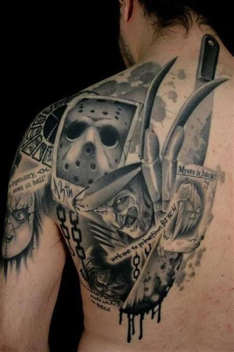 horror movie tattoos designs horror tattoos