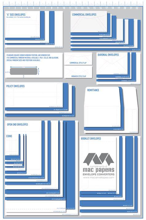 printable envelope guide mailing envelope sizes pertamini co