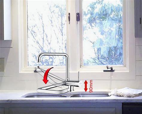 rubinetto lavello rubinetto miscelatore per lavello con corpo orizzontale e
