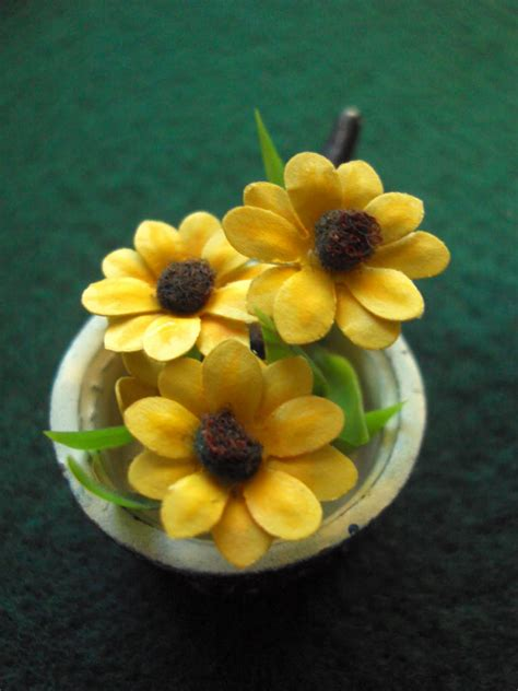 How To Make Miniature Paper Flowers - antique flowers tutorial how to make mini