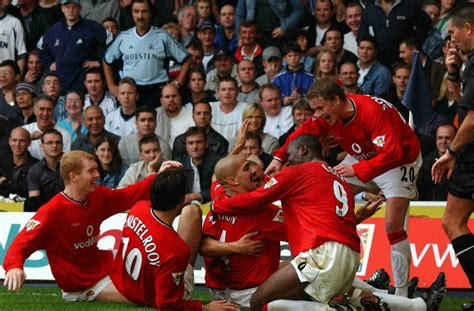 arsenal manchester united man united vs arsenal top 5 games in the premier league era