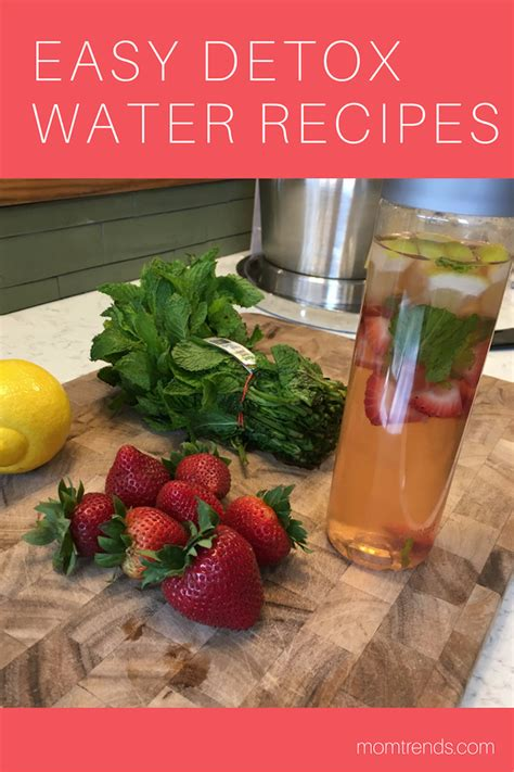 Fruit Detox Diet Recipes by Detox Water Cleanse Your With Fruit Infused Water
