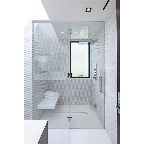 White Textured Bathroom Tiles by Textured White Tiles Interior Design Ideas