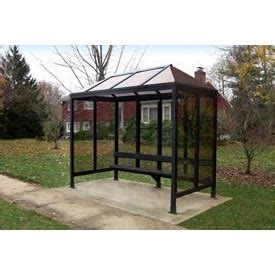 3 Sided Hip Roof Shelter Vented Poly Hip Roof Three Sided With Open
