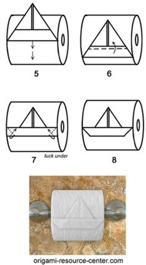 Make Your Toilet Paper Chic With Origami by Thousands Of Ideas About Paper Boats On