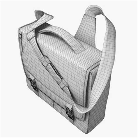 Bag 3d school bag 3d model max obj 3ds c4d cgtrader