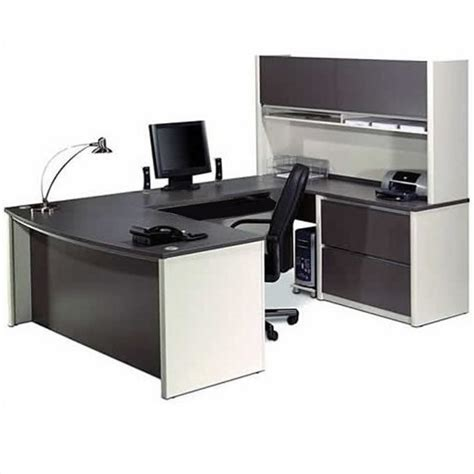 Home Office U Shaped Desk Computer Desk Home Office Workstation Table 6 U Shaped Set With Pedestal Ebay