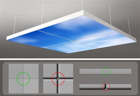 sky ceiling tiles neonny made breakthrough in led moving sky led panel