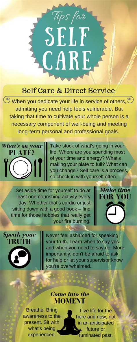 care tips infographic youth worker institute