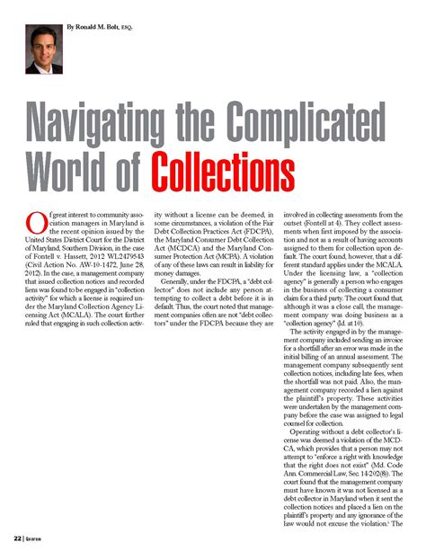 navigating the complicated world of collections bolt llc