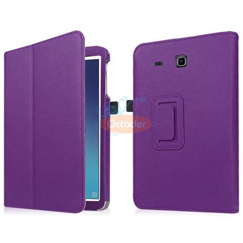 Flip Cover Tab 3d Gambar 6 8 7 pu leather folio stand cover for samsung galaxy tab e
