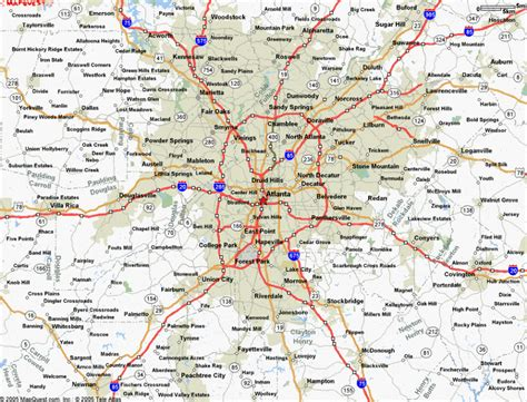 atlanta in map of usa creating new cities causes social and economic fallout