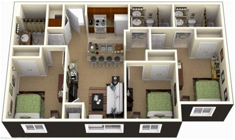 home design inspiration gallery marvelous 3 bedroom house designs 3d inspiration ideas