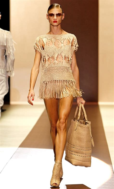 Macrame Styles - crochet and macrame fashion trend fashionising