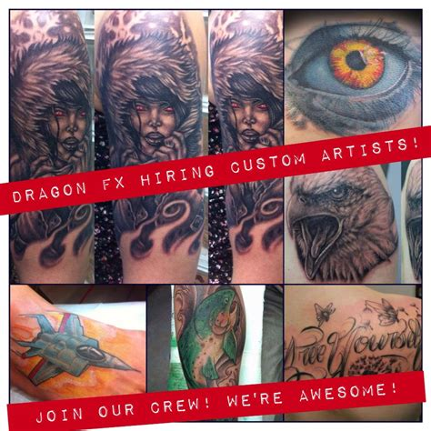 what s new dragon fx tattoo edmonton wem kingsway dragon fx is hiring custom experienced tattoo artists