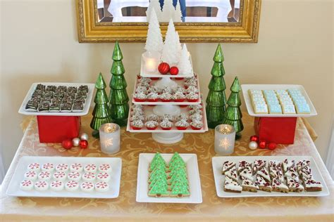 classic holiday dessert table glorious treats