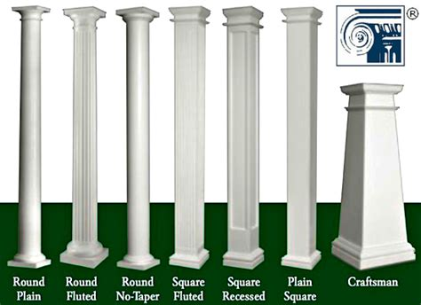 decorative deck columns benefits of using fiberglass porch columns