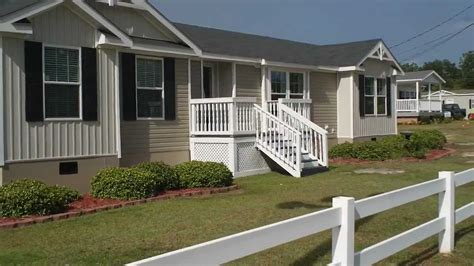 clayton homes double wide sized modular home florence sc youtube
