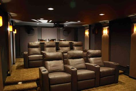 media room seating decoration media room furniture exciting brown leather gallery including seating ideas